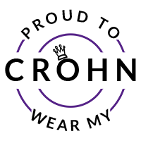 Proud to wear my Crohn